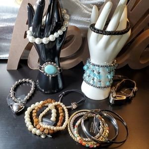 NWT 9pc Bracelet Lot 010